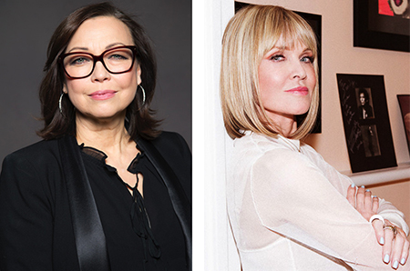 Makeup for mature faces: Brigitte Reiss-Andersen and Sandy Linter