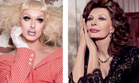 Makeup for mature faces: Milk and Sophia Lauren
