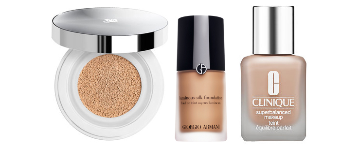 Makeup for mature faces: Foundation