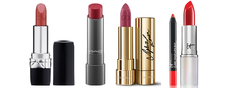 Makeup for mature faces: Lipstick