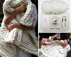 Nantucket Throw kit, ($242).