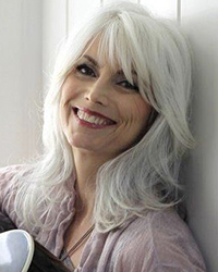 Emmy Lou Harris gray hair