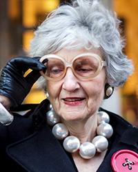 Liz Friedman gray hair
