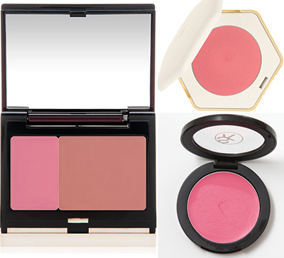 Makeup for mature faces: Blush