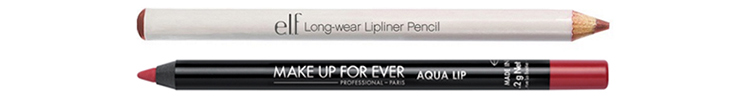 Makeup for mature faces: Lipliner