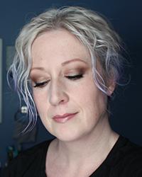 Perilously Pale gray hair smoky eye