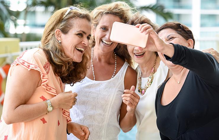 Cosmetic Dentistry Selfie