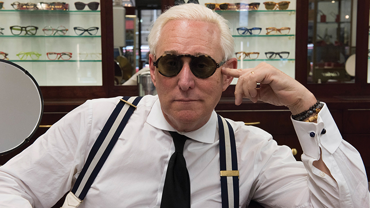 Roger Stone in GET ME ROGER STONE