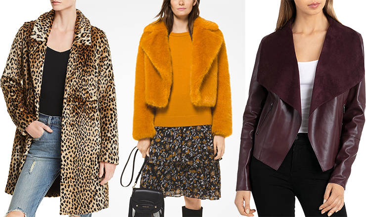Fall Fashion Faux Coats