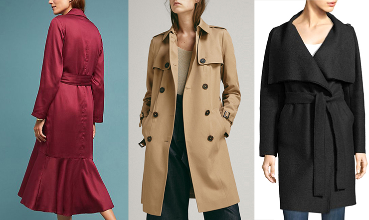 Fall Fashion Trench Coats