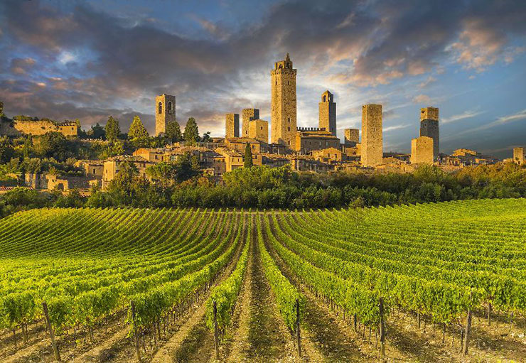 Fine Art Travel in San Gimignano