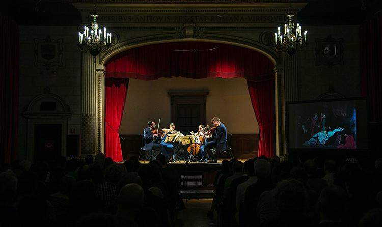 Ariel Quartet, Aspect Foundation of Music & Arts