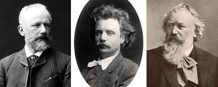 Tchaikovsky, Grieg, Brahms