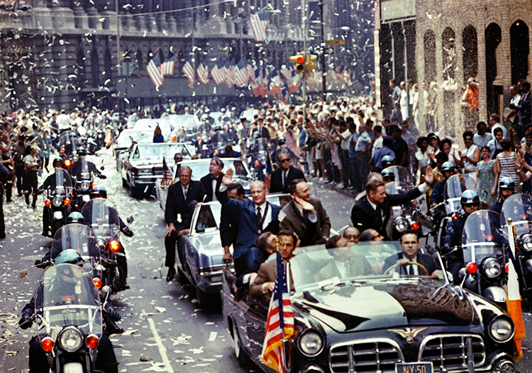 Apollo 11 ticker tape parade